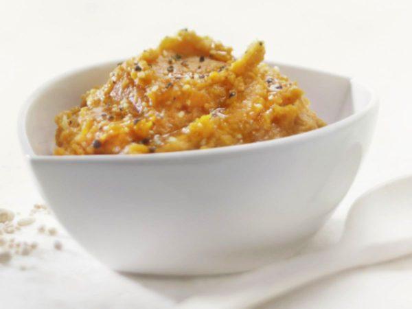 Recette — Purée de patates douces à l'érable