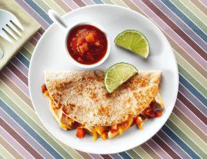 Quesadillas Olé au poulet et à l'érable