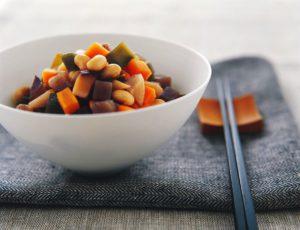 Ragoût de fèves et de légumes au sirop d'érable