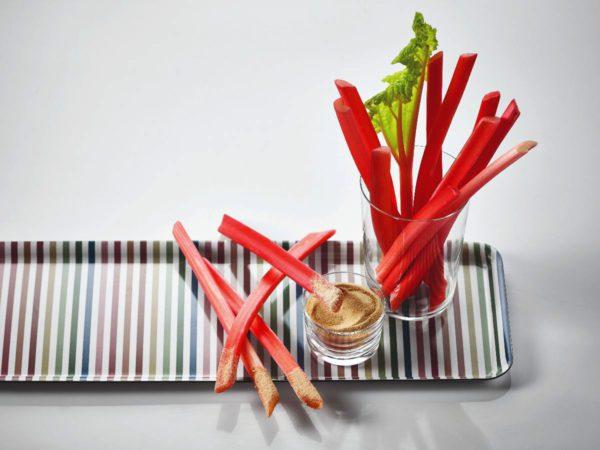 Recette — Rhubarbe au sucre d'érable