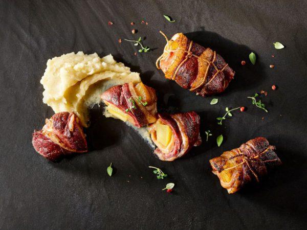 Recette — Rôti de magret de canard, foie gras et ananas confit érable-épices