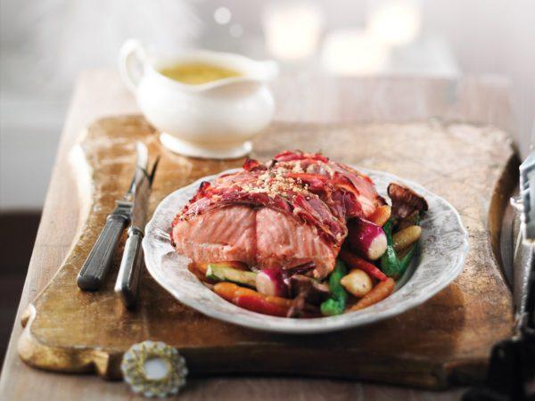 Recette — Rôti de saumon à l'érable, sauce béarnaise à l'érable