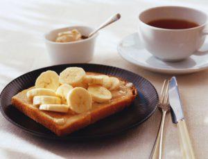 Rôtie aux bananes et au beurre d'érable