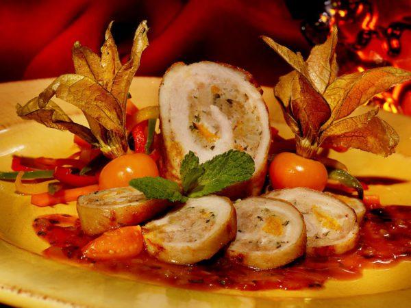 Recette — Roulades de dinde aux cerises de terre parfumées à l'érable