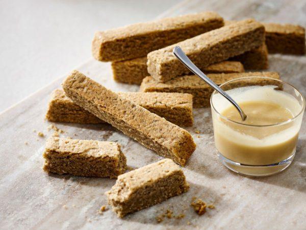 Recette — Sablés bretons au sarrasin avec sauce à l'érable