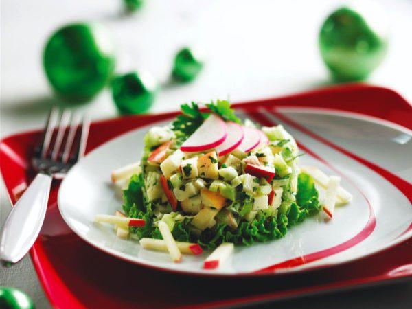 Recette — Salade croquante quatre-saisons