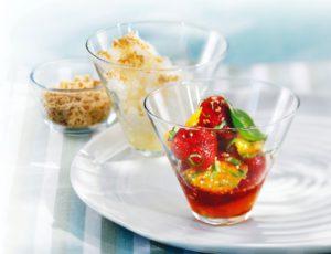 Salade de fraises et d'oranges à l'érable
