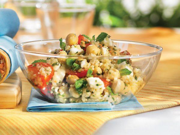 Recette — Salade de quinoa au féta, à la menthe et à l'érable