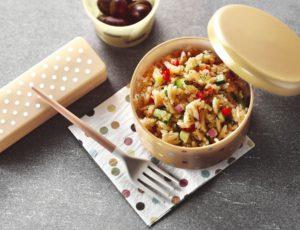 Salade d'orzo et de quinoa à l'érable