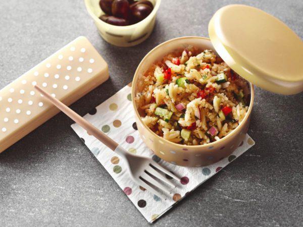 Recette — Salade d'orzo et de quinoa à l'érable
