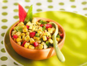 Salade multicolore à l'érable