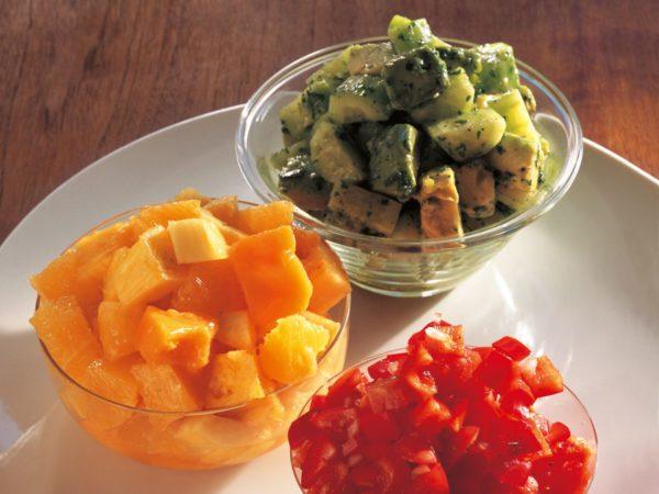 Recette — Salade trois couleurs
