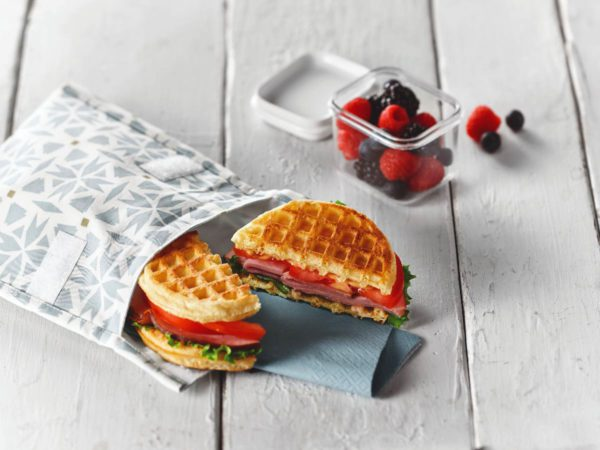 Recette — Sandwich gaufres-jambon-érable