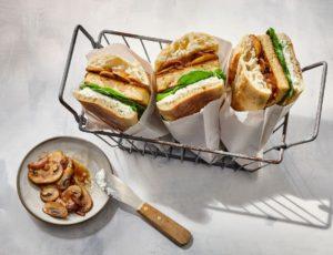 Sandwichs chauds au tofu
