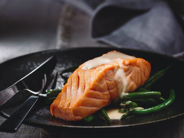 Recette — Saumon au beurre blanc à l'érable et au gingembre