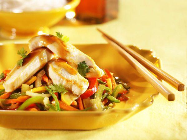 Recette — Sauté de poulet teriyaki à l'érable
