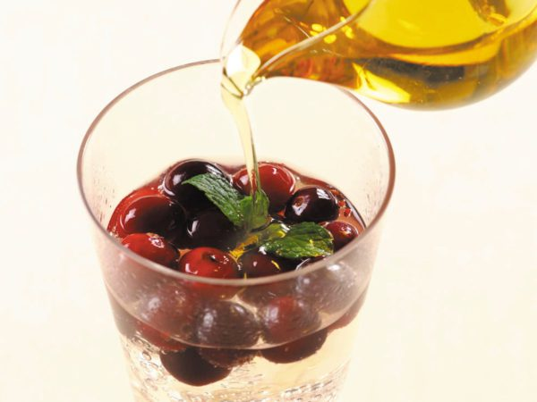 Recette — Soda à la canneberge