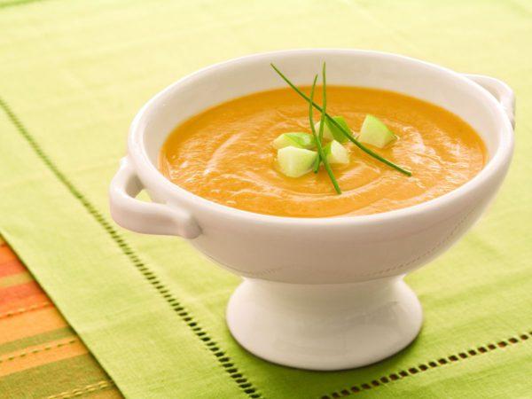 Recette — Soupe à la courge poivrée rôtie