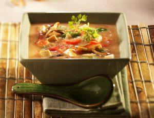 Soupe-repas orientale à l'érable