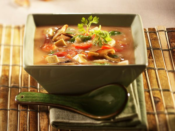 Recette — Soupe-repas orientale à l'érable
