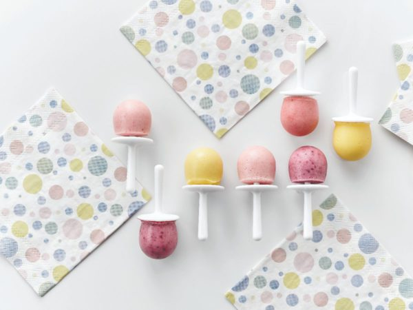 Recette — Sucettes glacées aux petits fruits et à l'érable