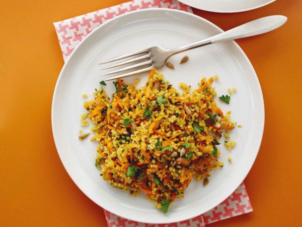 Recette — Taboulé de millet aux carottes à l'érable