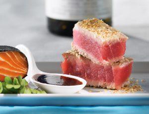 Tataki de thon à l'érable