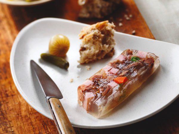 Recette — Terrine de canard confit en gelée d'eau d'érable