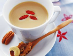 Thé Oolong au lait et au sirop d'érable