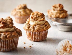 Muffins à l'avoine et au beurre d'érable