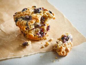 Muffins aux bleuets et à l'érable