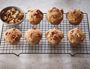 Muffins végétaliens à l'érable