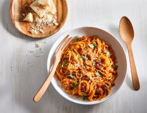 Spaghetti sauce bolognaise à l'érable «one pot»