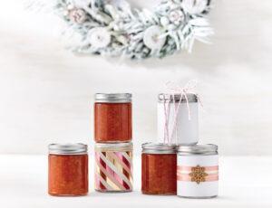 Marmelade de pamplemousse rose à la lime et à l'érable