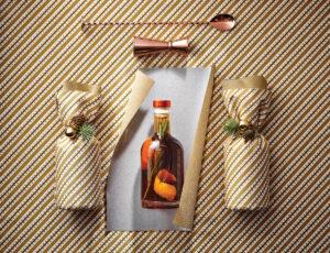 Sirop de Noël et sa déclinaison de cocktails festifs