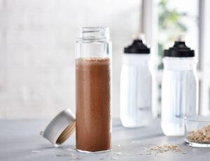 Smoothie au café, au cacao et à l'érable
