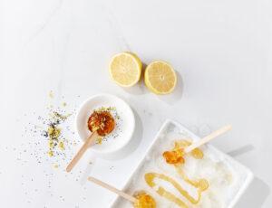 Tire d'érable, citron et pavot